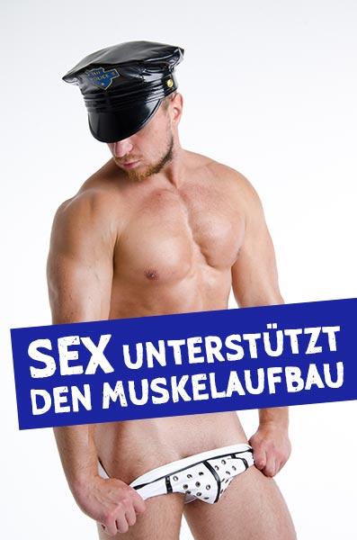Sex unterstützt den Muskelaufbau