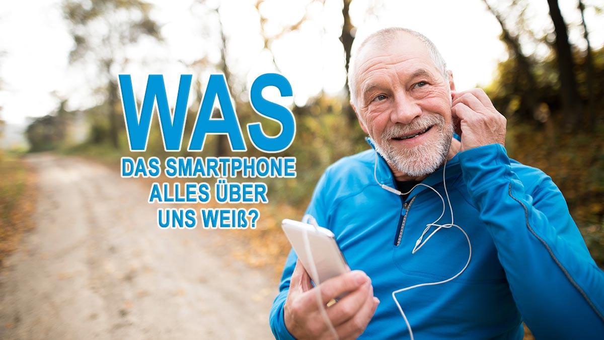 Was das Smartphone über uns weiß - Jogger beim Musik-Hören