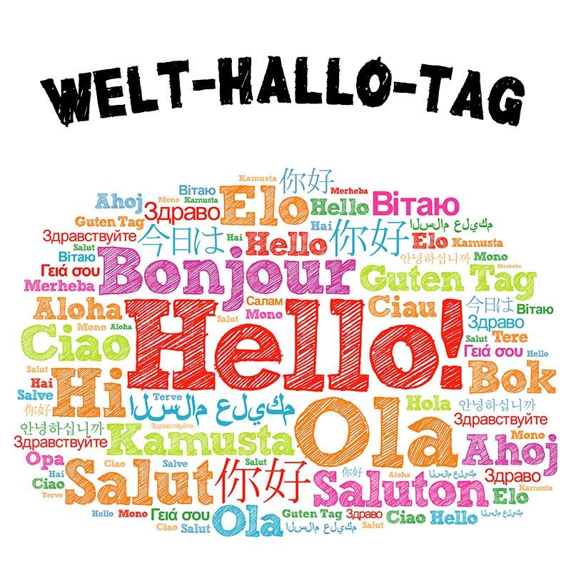 Welt-Hallo-Tag