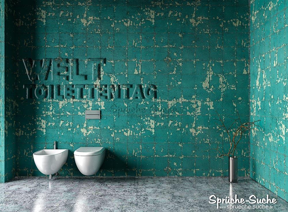 Welttoilettentag - Bad mit WC