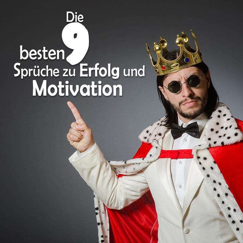 Die 9 besten Sprüche zu Erfolg und Motivation
