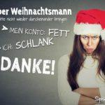 Lieber Weihnachtsmann - Lustiger Wunsch zu Weihnachten