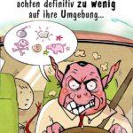 Auto ausrasten - Autofahren Sprüche