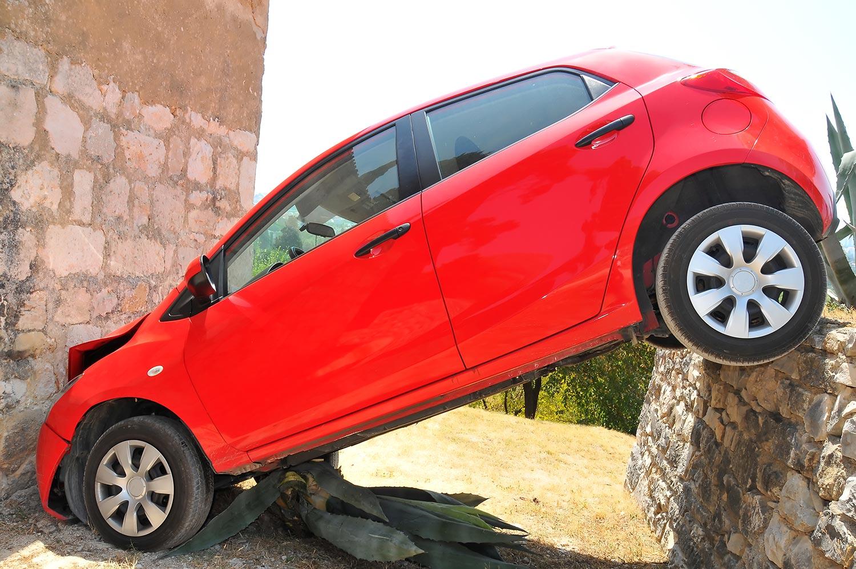 Schlecht einparken Sprüche - Mein Auto steht schief