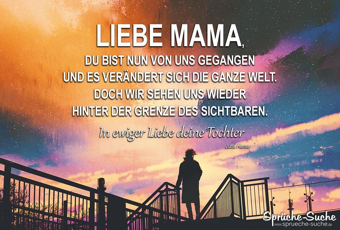 Mama Gestorben Spruch Sprüche Suche