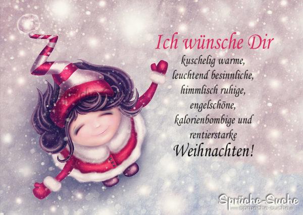 Weihnachtskarte - ich wünsche dir
