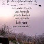 Nachdenklicher Spruch zu Silvester - Was ich mir für dieses Jahr wünsche