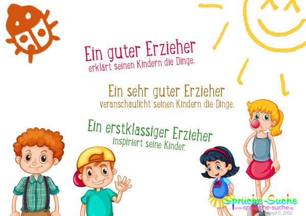 Erzieher Sprüche - Kinder
