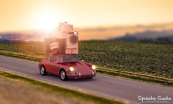 Umzug mit Porsche