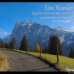 Wanderung Planung Spruch, Berge