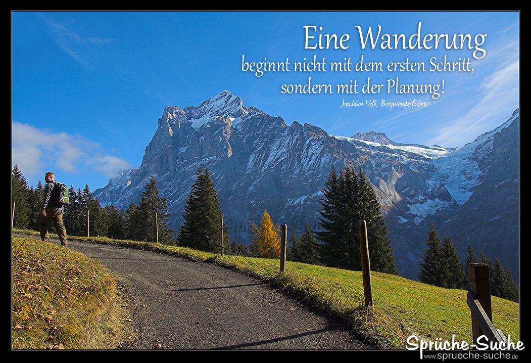 Wanderung Planung Spruch Berge Sprüche Suche