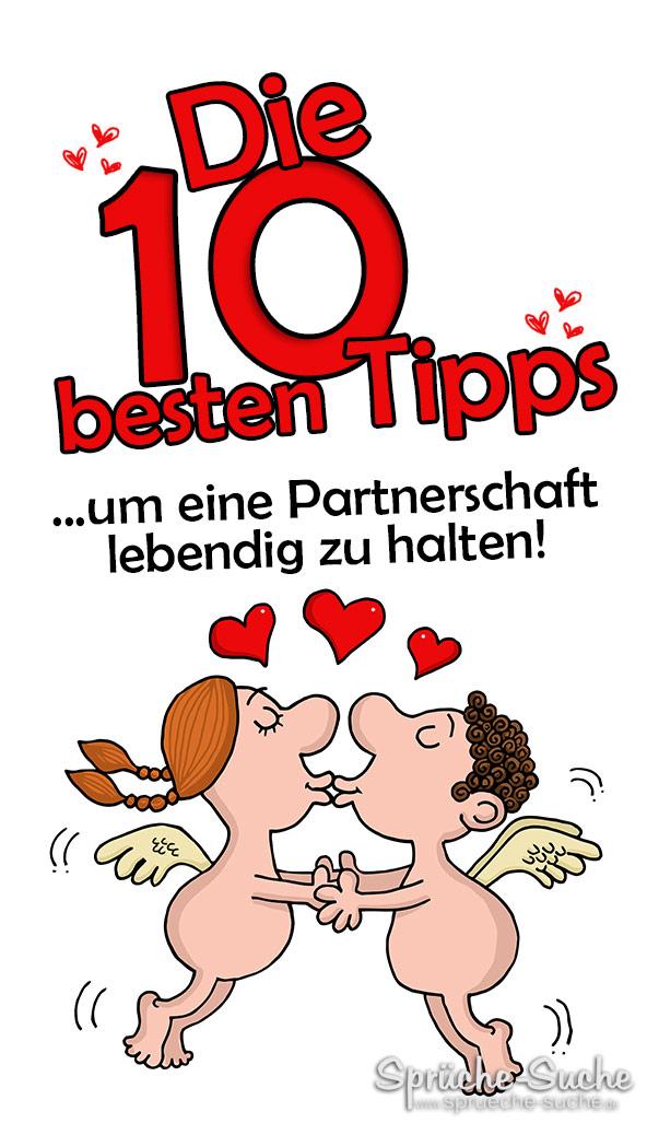 Die 10 besten Tipps um eine Partnerschaft lebendig zu halten
