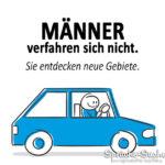 Männer Auto Spruch
