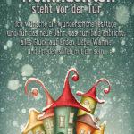 Schöner Spruch zu Weihnachten - Weihnachten steht vor der Tür