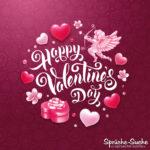 Happy Valentines Day - Spruch für Valentinstag