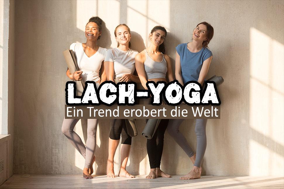Yoga-Gruppe - Lach-Yoga
