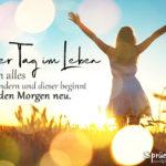 Motivation für jeden Tag - Sprüche zum Nachdenken