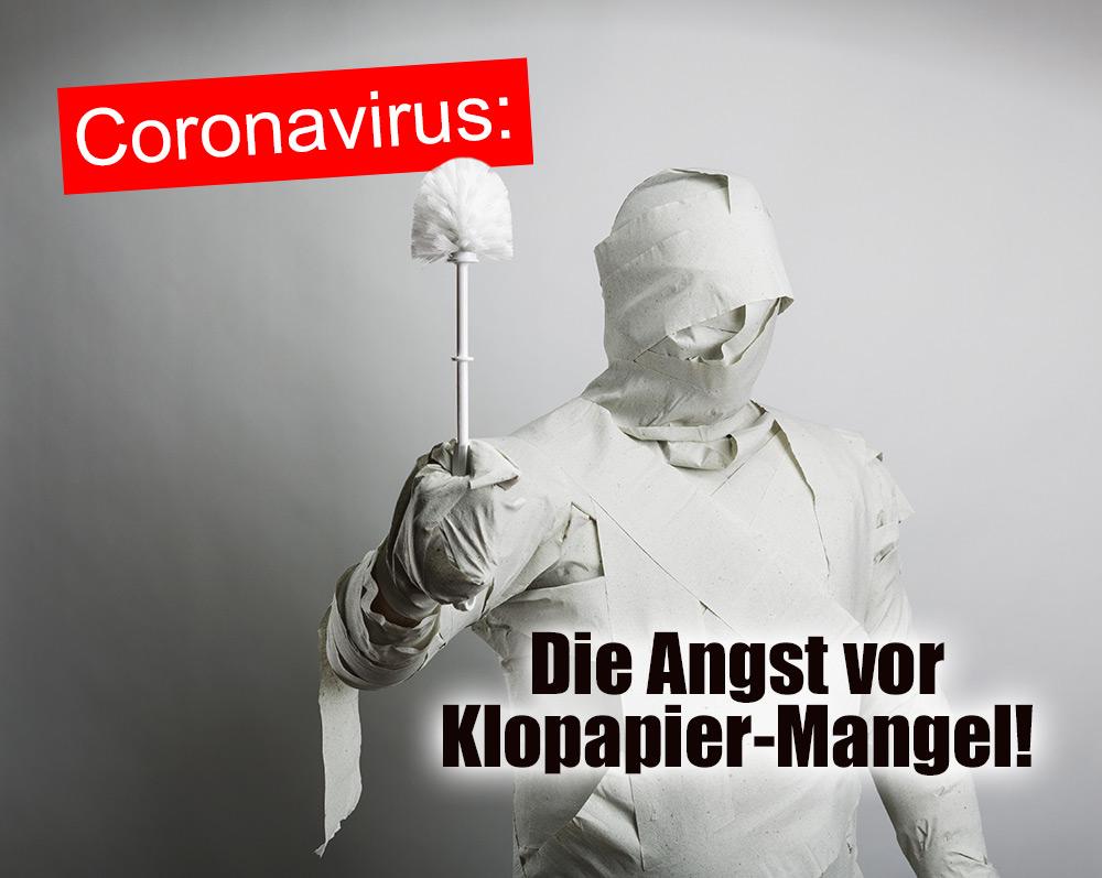 Coronavirus - die Angst vor Klopapiermangel