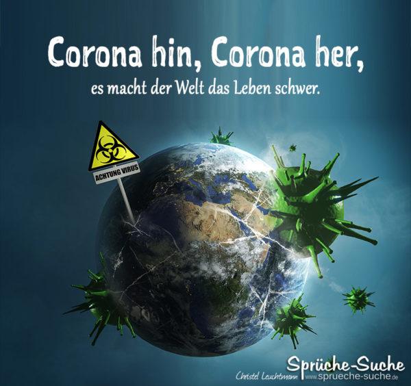 Coronavirus Spruch