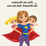 Die Mutter als Held Sprüche