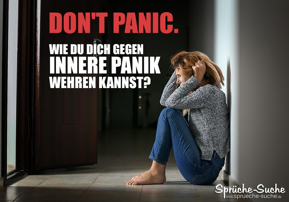 Panik - Wie Du Dich gegen innere Panik wehren kannst