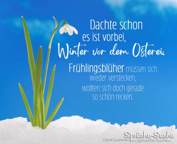 Spruch Gedicht für den Frühling zu Ostern