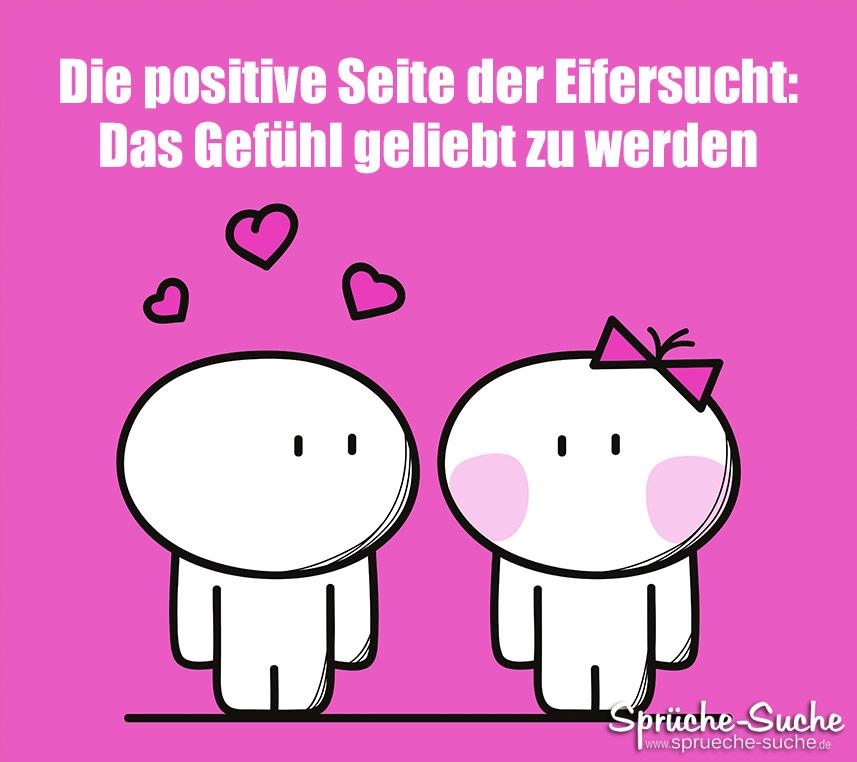 Die positive Seite der Eifersucht: Das Gefühl geliebt zu werden