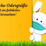 Herzliche Ostergrüße und ein fröhliches Eiersuchen Spruch