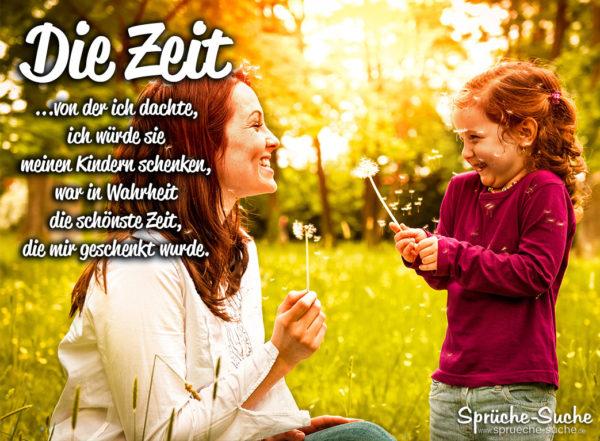 Spruch zum Nachdenken über Kind und Familie