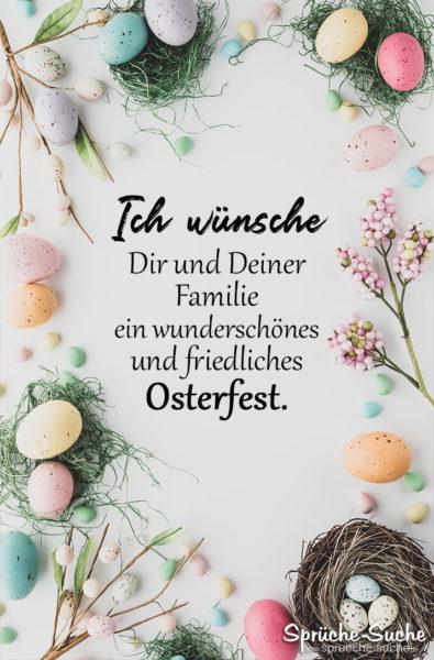 Sprüche zu Ostern - Grüße an den Feiertagen
