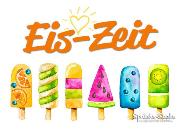 Status Spruch Eis essen
