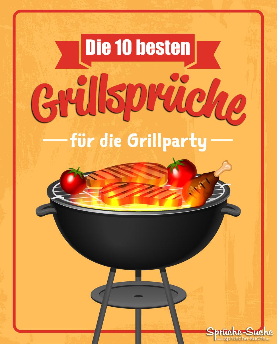 Die 10 besten Grillsprüche für die Grillparty - Witzig und amüsant!