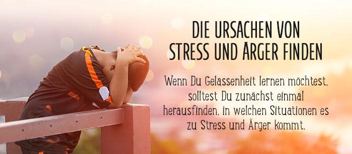 Die Ursachen von Stress und Ärger