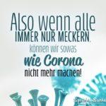 Lustiger Corona Spruch