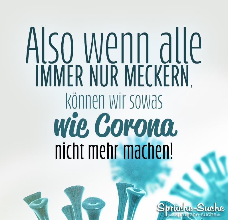 Lustiger Corona Spruch - Sprüche-Suche