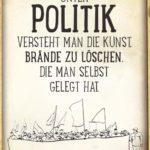 Politik Spruch