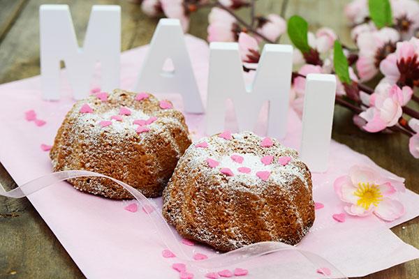 Rührkuchen zum Muttertag selber machen