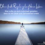 Regeln im Leben - Spruch zum Nachdenken