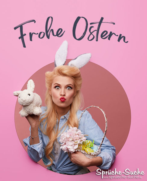 Frohe Ostern lustig
