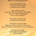 Ein neuer Anfang steht bevor - Gedicht von Jutta Hense